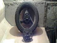 колесо заднее в сборе (колесо, демпфер, звезда, тормозной диск, шина, kings tire, 140/70-17)  Suzuki  GSF400 Bandit