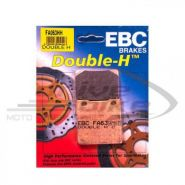 EBC Тормозные колодки FA063HH DOUBLE H Sintered для мотоциклов SUZUKI задние.