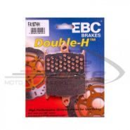 EBC Тормозные колодки FA187HH DOUBLE H Sintered передние